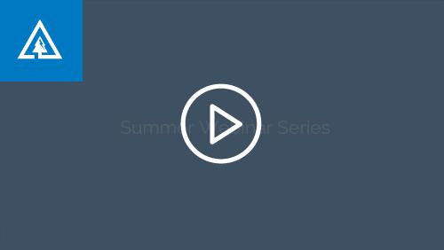 summer webinar series